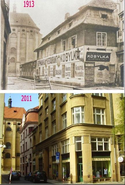 Jakubská - Koláž: Václav Víšek