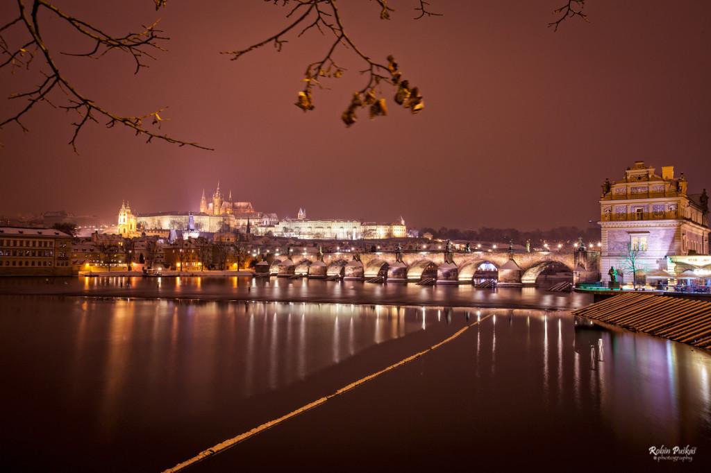 Pohled na Karlův most a Hradčany - Foto: Robin Puškáš