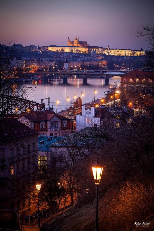 Pohled z Vyšehradu - Foto: Robin Puškáš