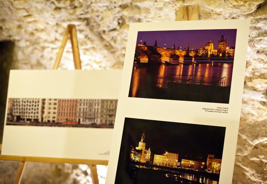 Z výstavy v rámci nejlepších kandidátů  projektu – ,,Magická Praha ´´ u příležitosti zápisu pražských                                                                památek na seznam světového kulturního dědictví UNESCO  - Foto: Robin Puškáš