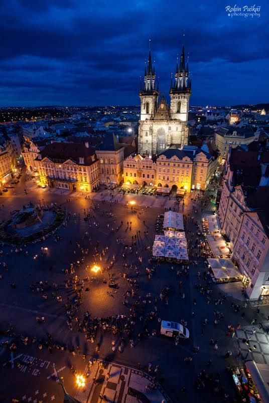 Výhled ze Staroměstské radnice - Foto: Robin Puškáš