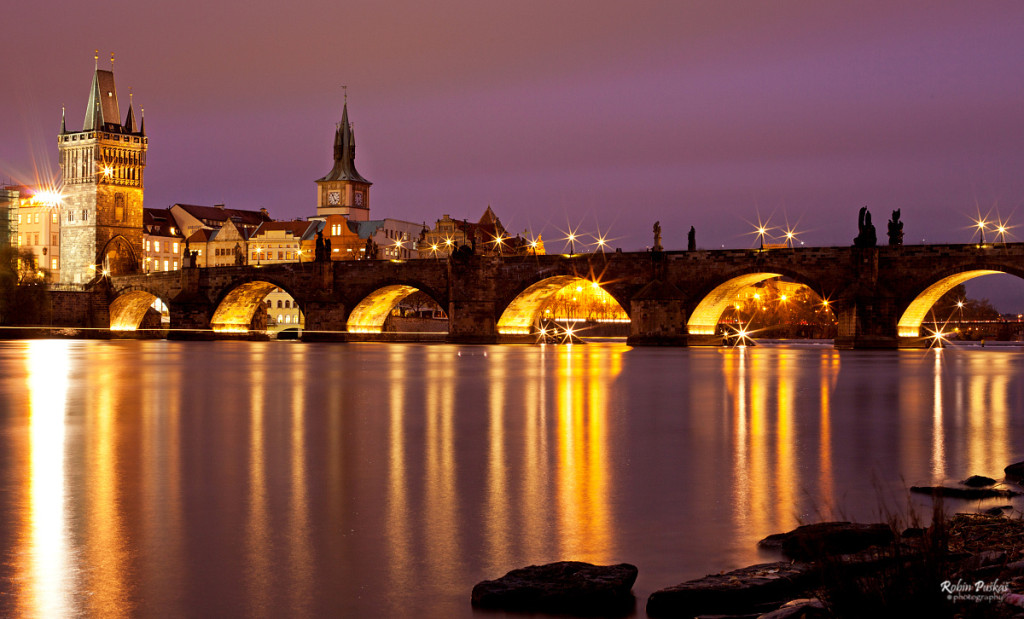 Výhled na Karlův most – jedno z mých nejoblíbenějších míst… - Foto: Robin Puškáš