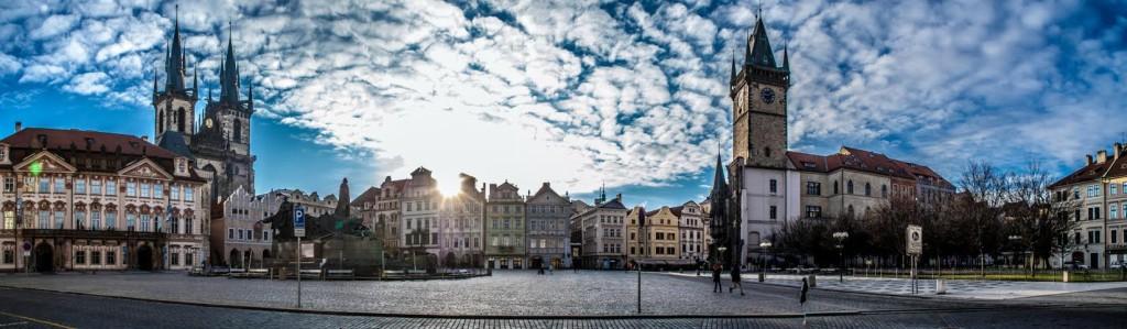 Panorama Staroměstkého náměstí - Foto: Aleš Náhlý