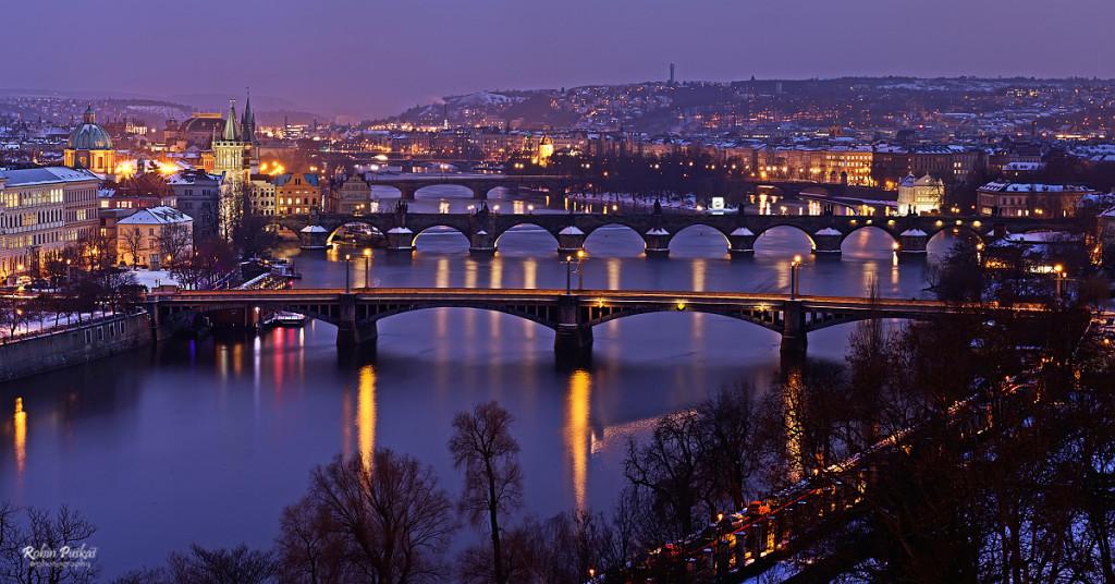 Letná – pražské mosty - Foto: Robin Puškáš
