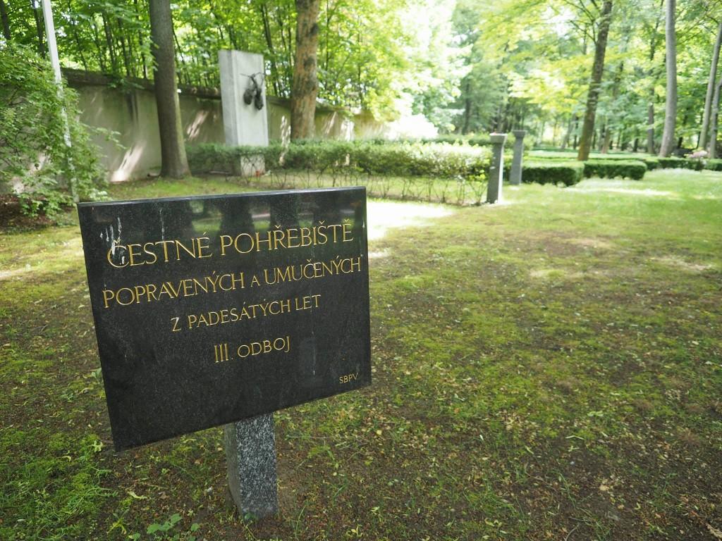 Čestné pohřebiště popravených a umučených z 50. let - Foto: Eugen Kukla