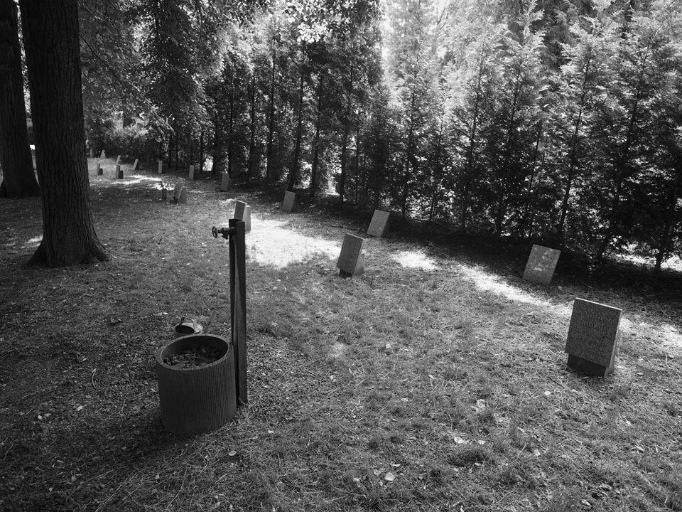 Hřbitov dětí narozených uvězněným maminkám. 50. léta. Praha - Ďáblice 31.V.2015 - Foto: Eugen Kukla