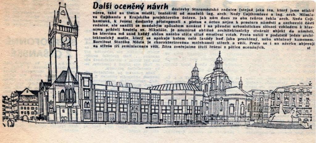 Návrh: N. a M. Cajthamlovi 1988