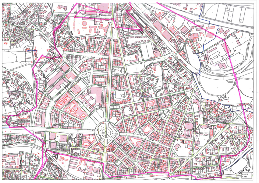 Mapa oblasti, kde není pitná voda. Mapa: praha6.cz