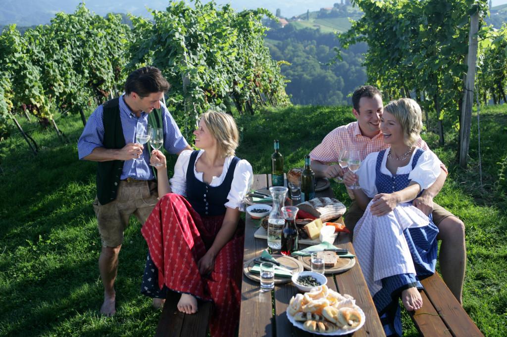 Vinná stezka ve Štýrsku Foto: © Steiermark Tourismus / ikarus.cc