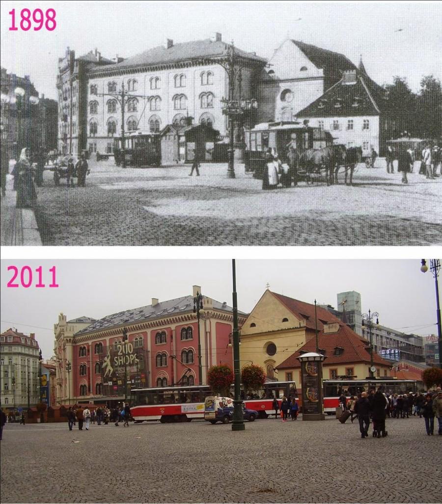 Nové Město, Náměstí Republiky 2  - Foto a koláž: Václav Víšek
