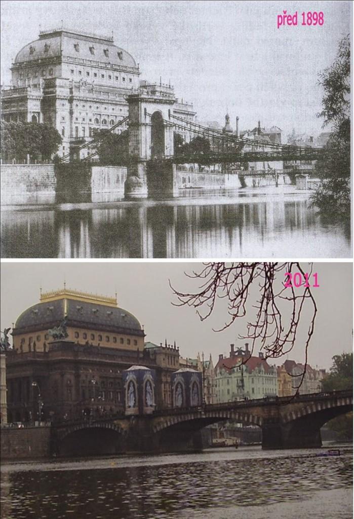 Nové Město, Národní divadlo - Foto a koláž: Václav Víšek