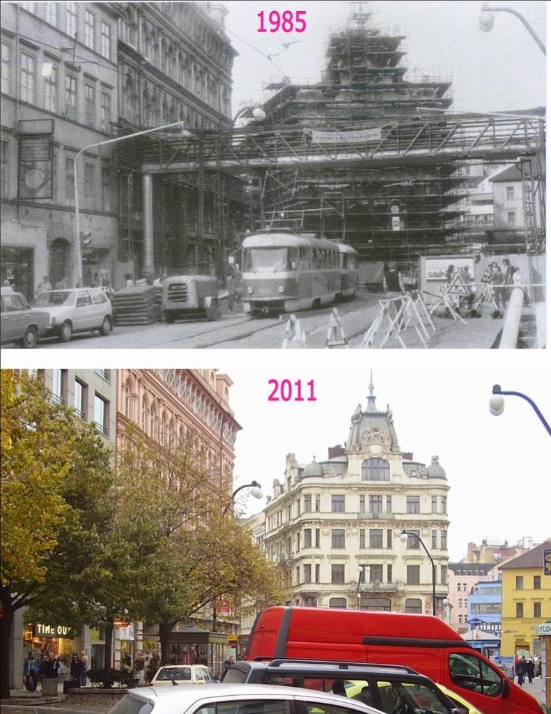 Nové Město, Národní třída 2 - Foto a koláž: Václav Víšek
