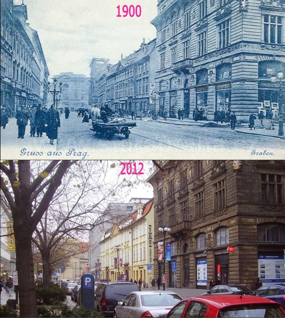Nové Město, Na Příkopě 11 - Foto a koláž: Václav Víšek