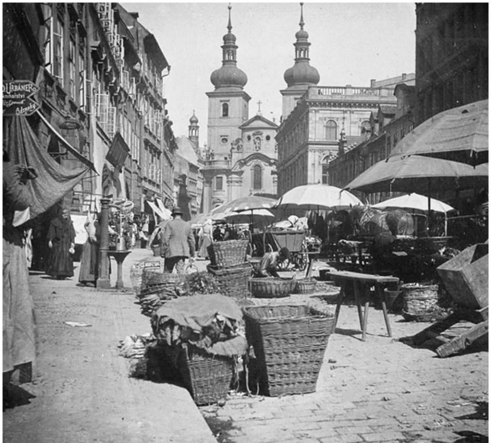 Zelný trh na Havelaku 1895