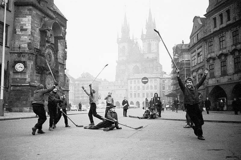 Radost z hokeje - Foto: Stanislav Tereba