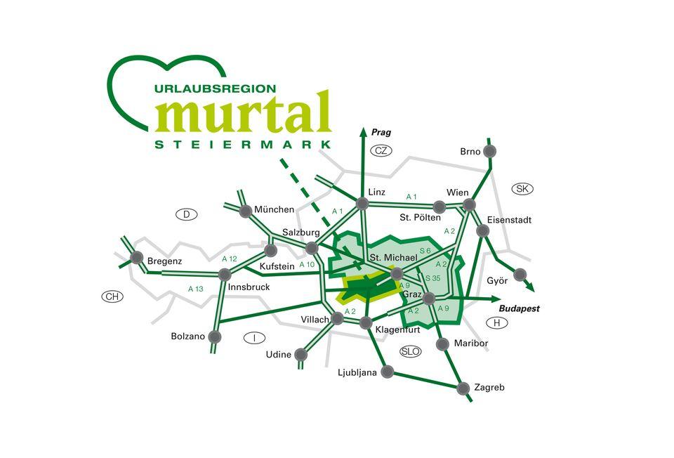mapa murtal