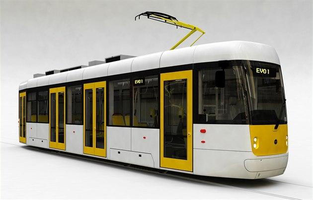 Tramvaj EVO1 - Foto: DPP