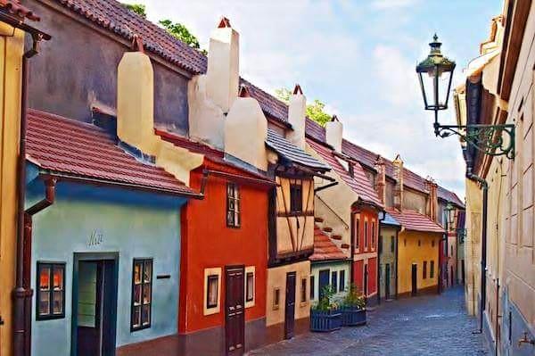 Zlatá ulička - Foto: Geena De Angelis
