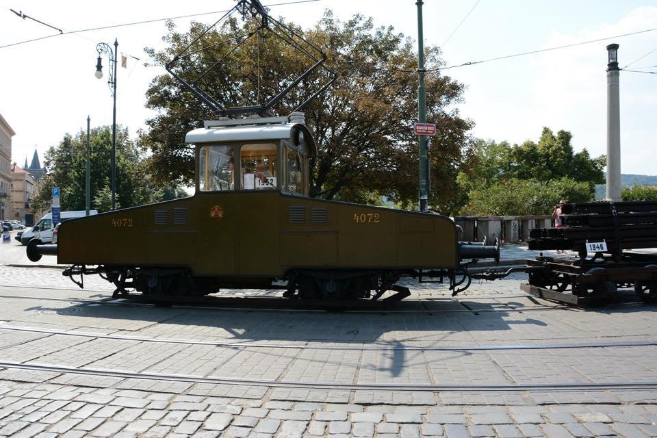Posunovací vozidlo č.ev. 4072 - Foto: Sebastiano Pulese