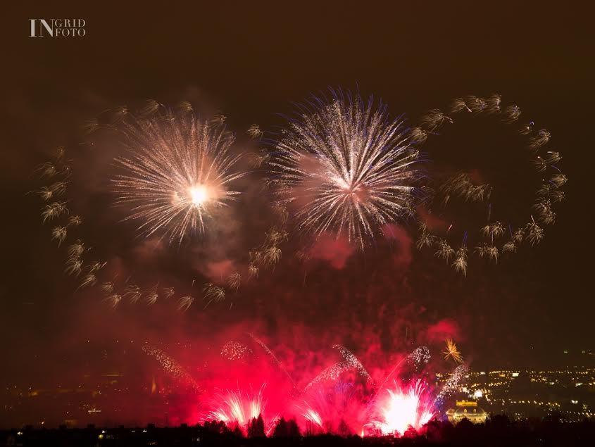 Úžasné pražské ohňostroje - Foto: Ingrid Slobodová