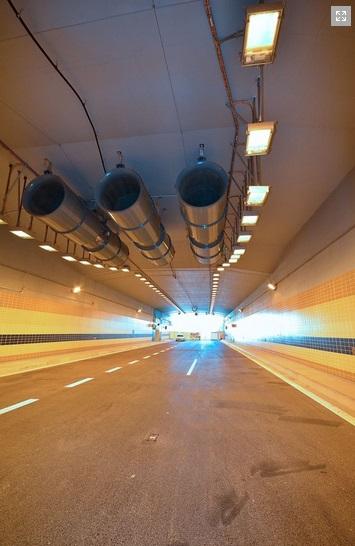 Větrací turbíny v tunelu Blanka - Foto: Petr Bušta - Český rozhlas 1 - Radiožurnál