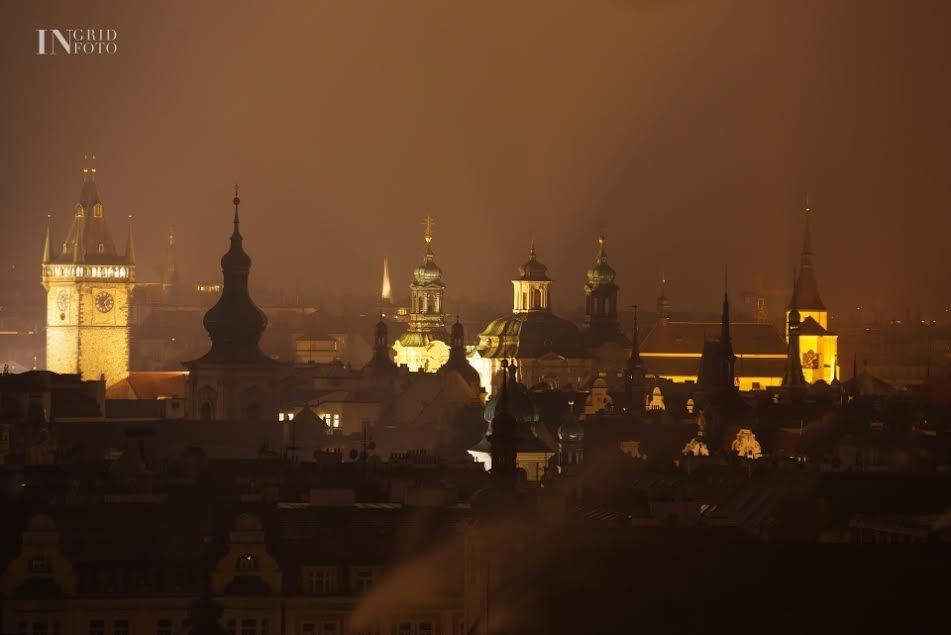 Pražské věže - Foto: Ingrid Slobodová