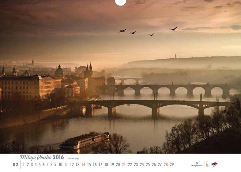 kalendar bez loga choco unor