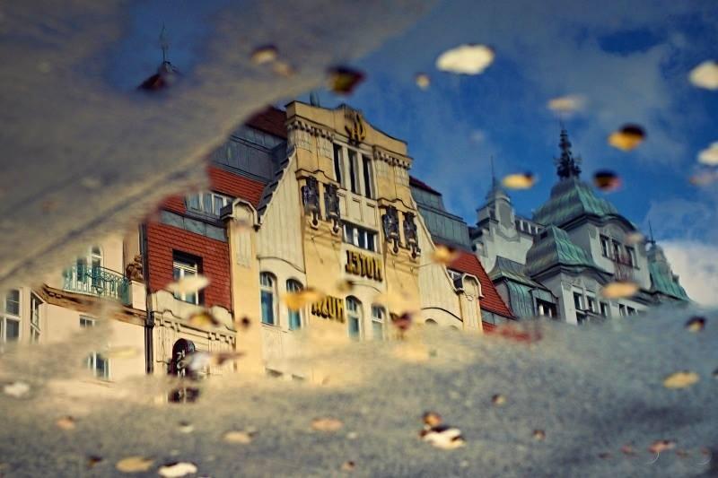 Praha v odrazech - Foto: Mia Ferešová Vobořilová