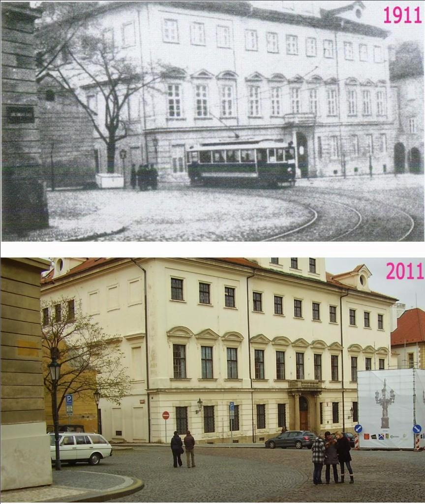 Hradčany, Loretánská ulice – Foto a koláž: Václav Víšek