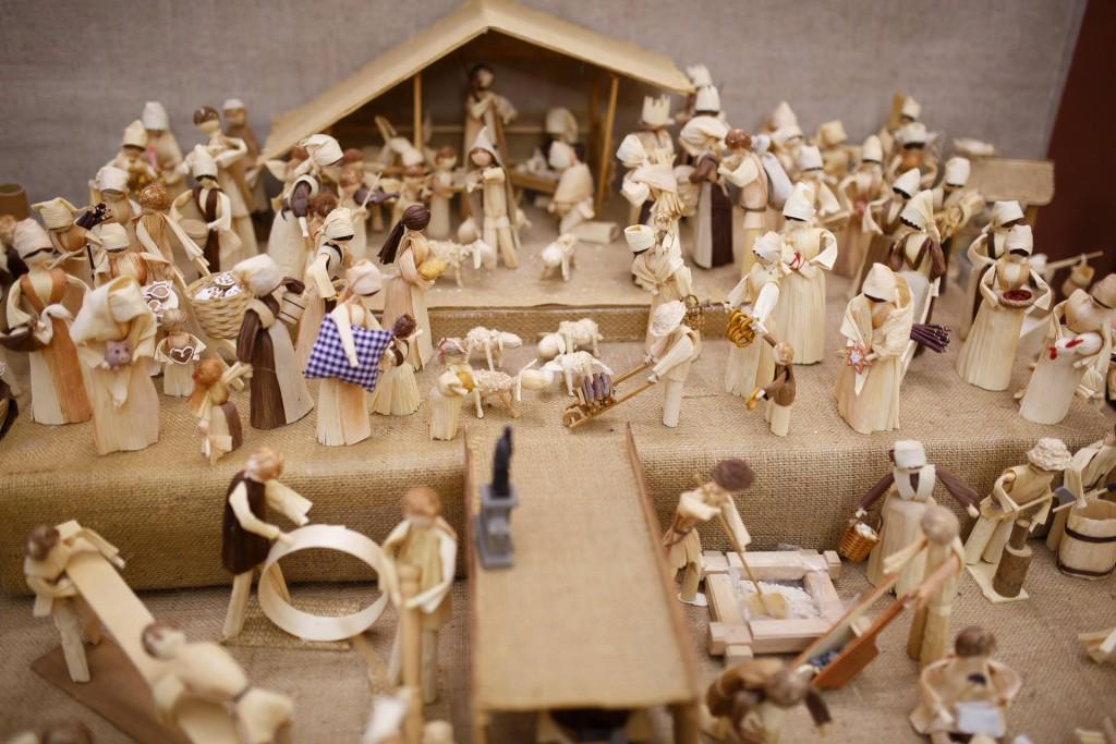 Jak se rodí betlémy - výstava betlémů