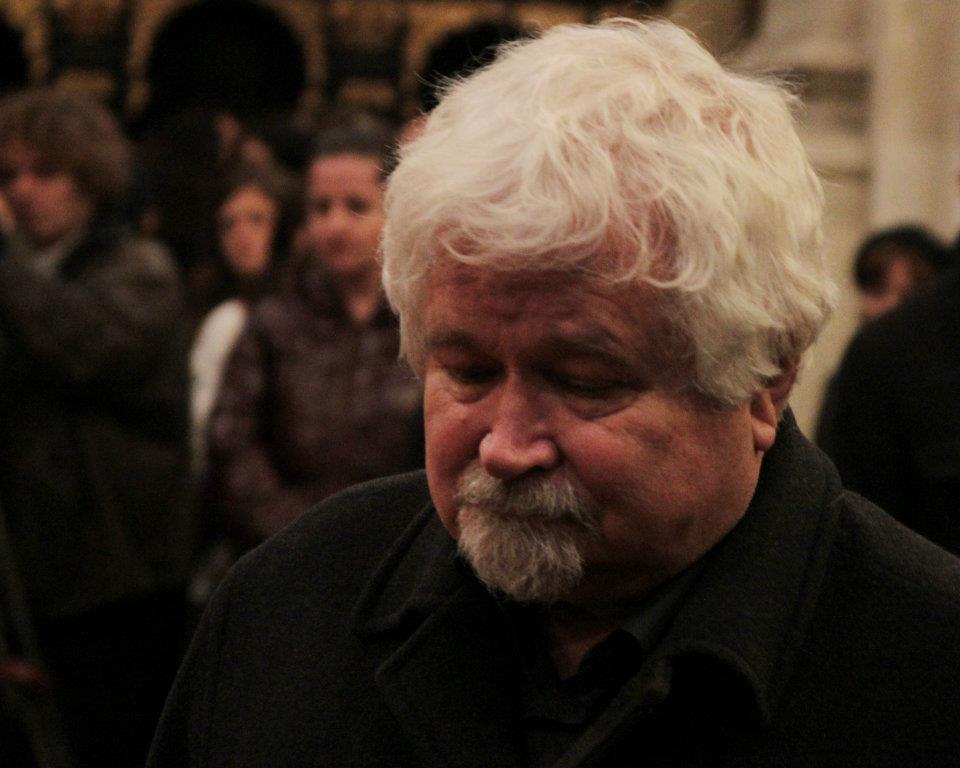 Bývalý předseda vlády Petr Pithart na zádušní mši za prezidenta Václava Havla - Foto: Eugen Kukla