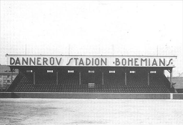 Dannerův stadion Bohemians -- Archiv: bohemians.cz
