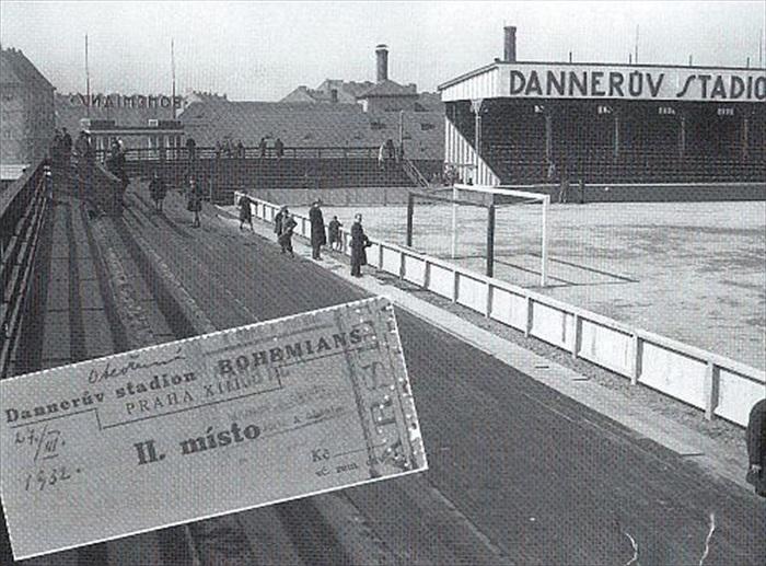 Vstupenka na zápas na stadion Bohemians - Archiv: bohemians.cz