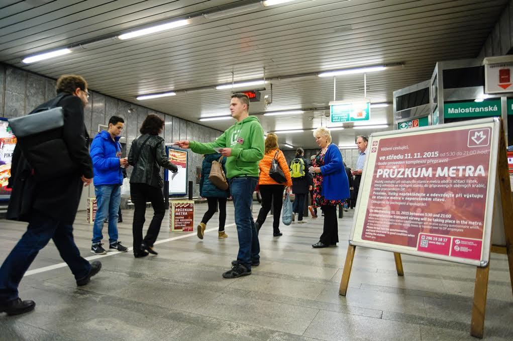 DPP - dopravní průzkum - Foto: DPP – Petr Hejna