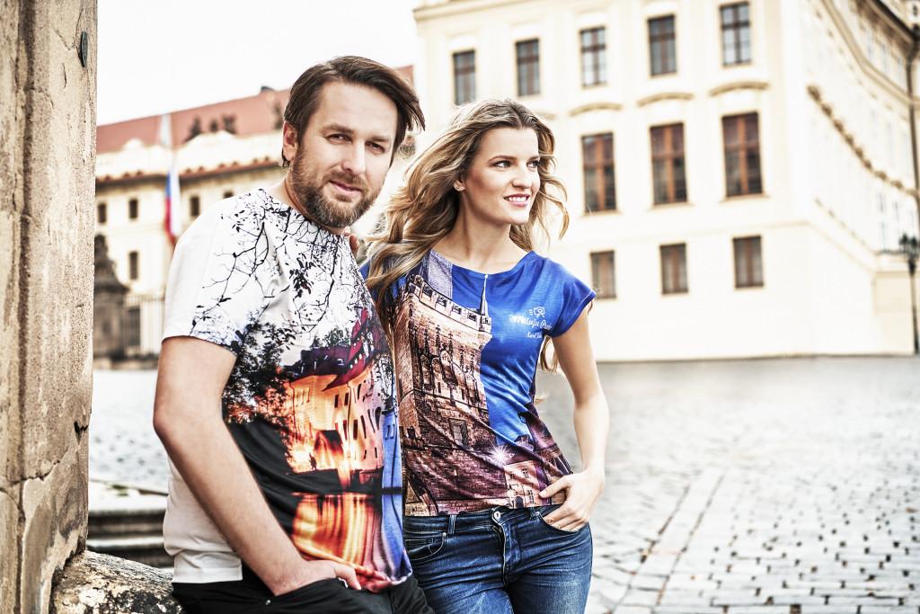 Trika z fotek Davida Šedivého a Karla Dobeše - Foto: Jiří Turek