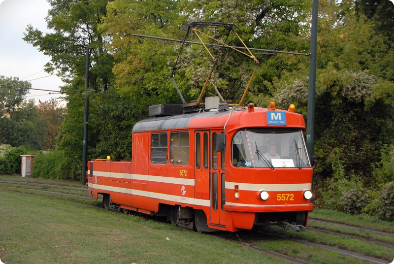 Mazací tramvaj - Foto: DPP - Michal Chrást