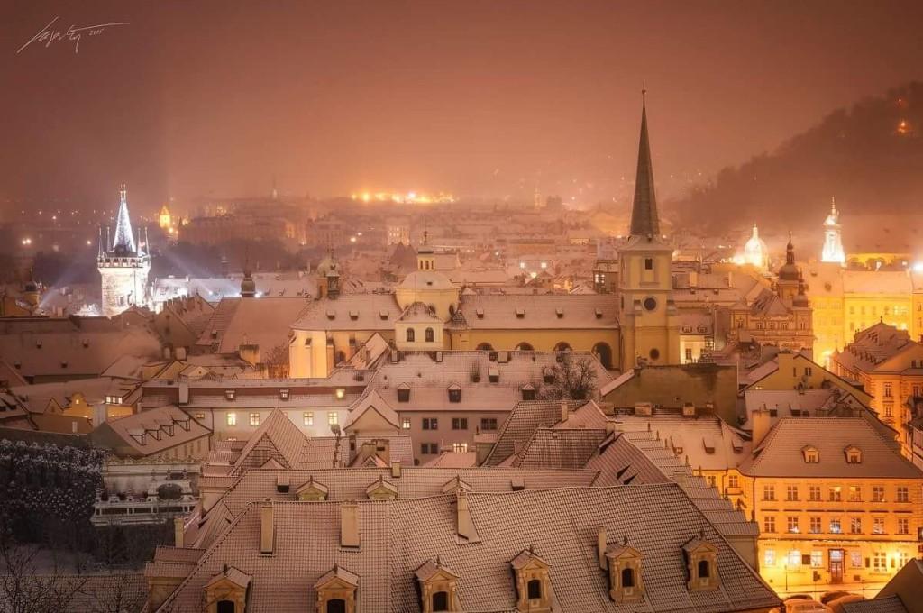 Zima v Praze - Foto: Marek Kijevský