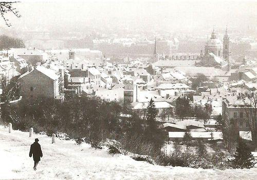 Zimní Praha (1980) - Foto: S.Tuma, 1980
