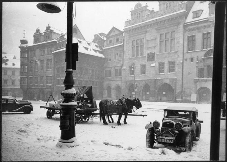 Na Staroměstském náměstí - Foto: Z.Feyfar
