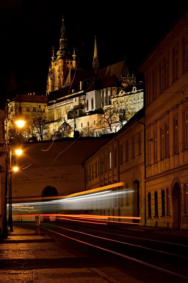 Tramvaj v Letenské ulici - Foto: Lenka Petruželová