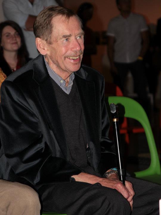 Václav Havel na oslavě svých posledních narozenin 1. října 2011 - Foto: Eugen Kukla