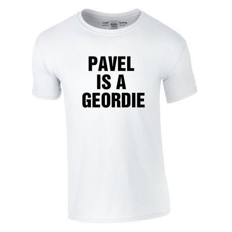 pavel is a geordie