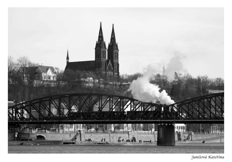 Železniční most pod Vyšehradem - Foto: Kateřina Janišová