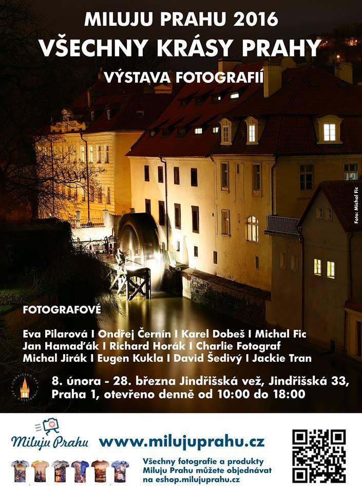 Výstava fotografií: Miluju Prahu 2016 - Všechny krásy Prahy