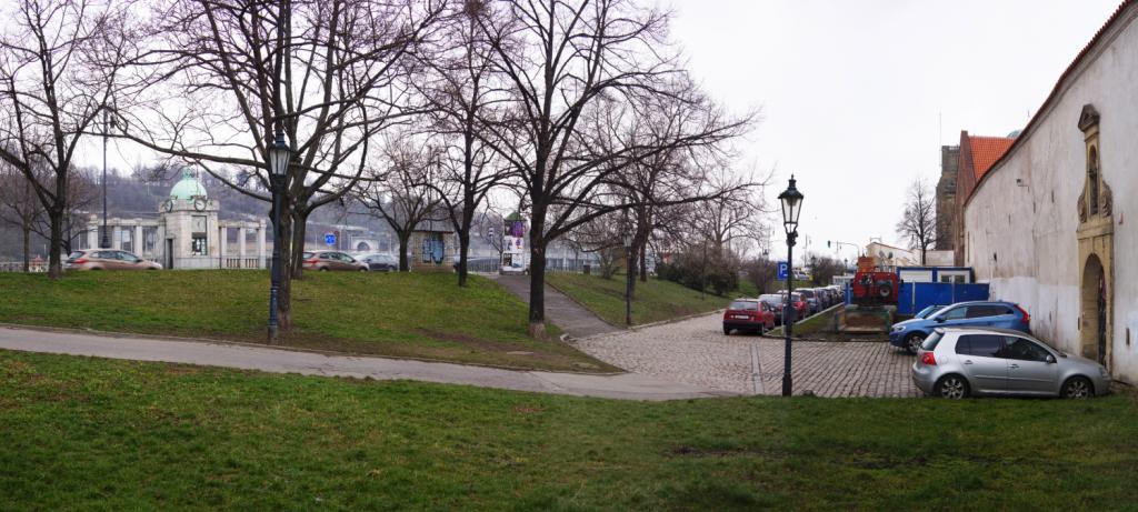 Dvořákovo nábřeží, oblast Na Františku - Foto: IPR Praha