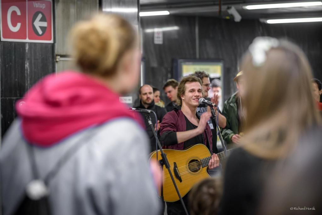 Nalaďte se v metru 2016 - Foto: Richard Horák