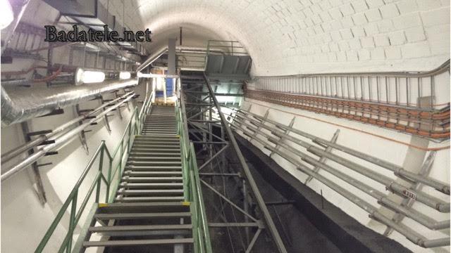 Pohled od stanice na eskalátory. - Foto: Jaroslav Mareš; badatele.net