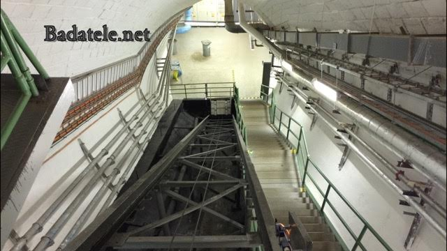 Spodní kratší eskalatorový tunel - Foto: Jaroslav Mareš; badatele.net