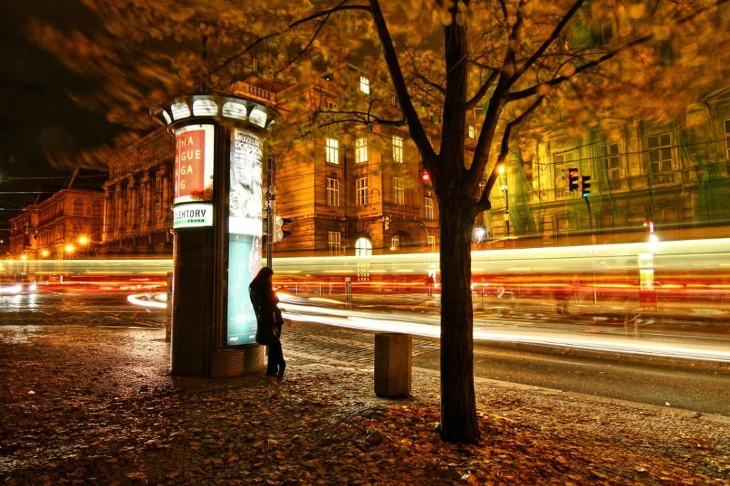 Na rohu náměstí Jana Palacha - Foto: Irena Brožová