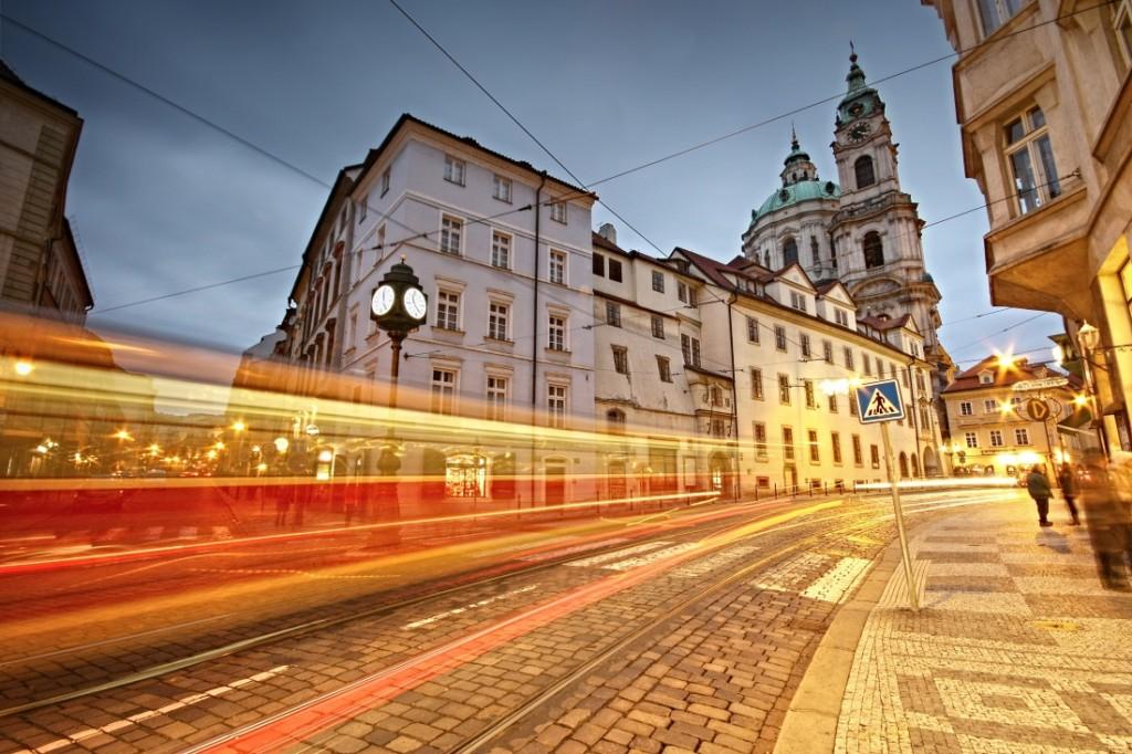 Doprava v Karmelitské ulici - Foto: Irena Brožová